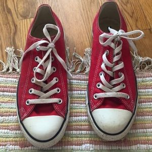 Converse Shoes - Converse low top in Red